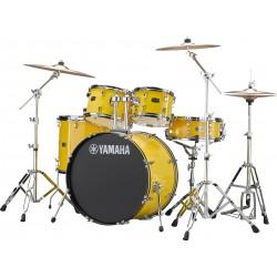 """Yamaha Rydeen Kit 22"""" Mellow Yellow + Platos Paiste"""