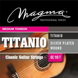 Cuerdas clásica Magma Titanio GC110T Medium Tension