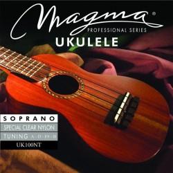 Cuerdas Magma Ukelele Soprano UK100NT nylon