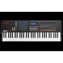 CONTROLADOR AKAI MPK261 USB MIDI 61 TECLAS CON MPC PADS