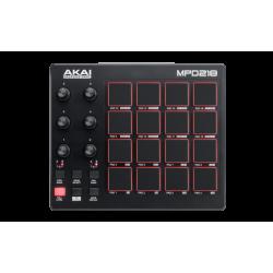 CONTROLADOR AKAI MPD218 MIDI USB DE PADS MPC
