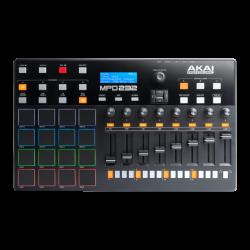 CONTROLADOR AKAI MPD232 MIDI USB DE PADS MPC CON 8 FADERS