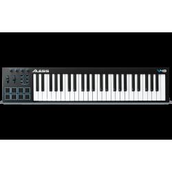 ALESIS Controlador V49 USB MIDI de 49 Teclas y 8 Pads