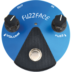 DUNLOP Fuzz Face Mini Distortion (Silicio)