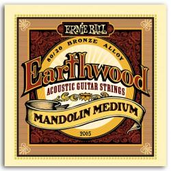 ERNIEBALL Juego de cuerdas Mandolina Earthwood Bronze Medium 10-36