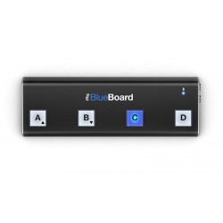 IK MULTIMEDIA Pedalera Bluetooth MIDI para iPhone, iPod touch, iPad y Mac