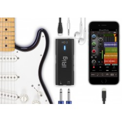 IK MULTIMEDIA IRIG HD2 INTERFAZ DE ALTA DEFINICION 96KHZ PARA MAC/PC IPHONE Y IPAD