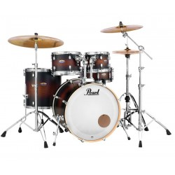 Pearl Bateria Decade Maple Studio Satin Brown Burst