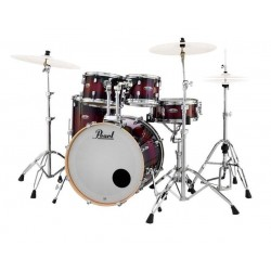 Pearl Bateria Decade Maple Studio Deep Red Burst