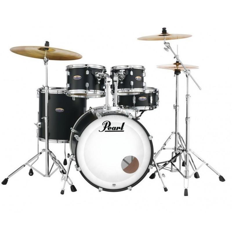 Pearl Decade Maple Fusion Satin Slate Black