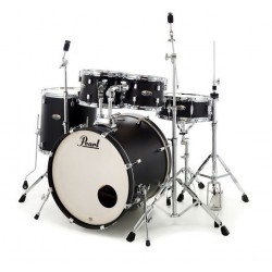 Pearl Bateria Decade Maple Studio Satin Slate Black