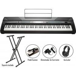 Pack Kurzweil KA-120 Piano 88 teclas contrapesadas