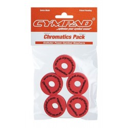 CYMPAD CHROMATICS SET 40/15 RED (5) UNI