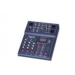 STUDIOMASTER CLUBXS 5 MESA DE MEZCLAS 5 CANALES Bluetooth