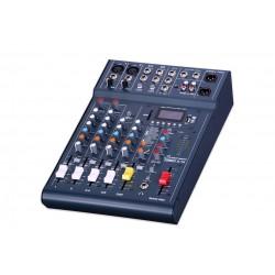 STUDIOMASTER CLUBXS 6 MESA DE MEZCLAS 6 CANALES Bluetooth