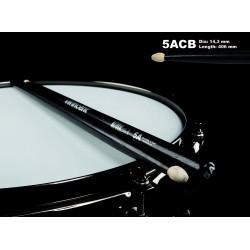 WINCENT STICKS 5ACB HICKORY-BLACK FINISH