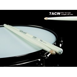 WINCENT STICKS 7ACW HICKORY-WHITE FINISH