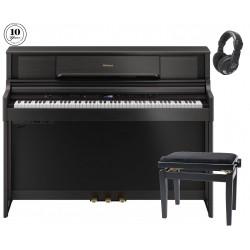 Pack Roland LX-705 Negro + Banqueta + Auricular