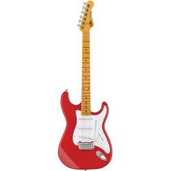 G&L Tribute Legacy MN Fullerton Red