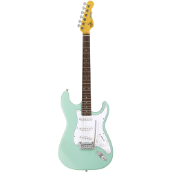 G&L Tribute Legacy RW Surf Green