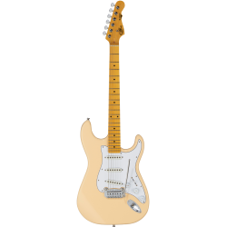 G&L Tribute S-500 MN Vintage White