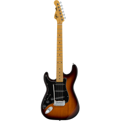 G&L Tribute S-500 MN Tobacco Sunburst Lefthand