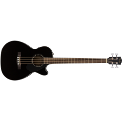 Fender CB-60SCE Bass, Laurel Fingerboard, Black