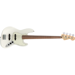 Fender Player Jazz Bass® Fretless, Pau Ferro Fingerboard, Polar White
