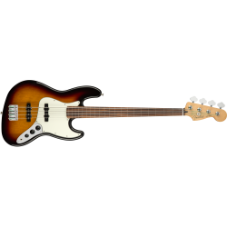Fender Player Jazz Bass® Fretless, Pau Ferro Fingerboard, 3-Color Sunburst