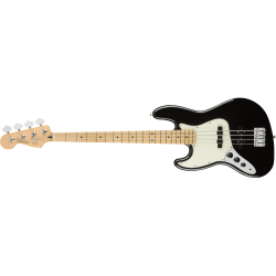 Fender Player Jazz Bass® Left-Handed, Maple Fingerboard, Black