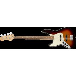 Fender Player Jazz Bass® Left-Handed, Pau Ferro Fingerboard, 3-Color Sunburst