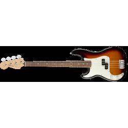Fender Player Precision Bass® Left-Handed, Pau Ferro Fingerboard, 3-Color Sunburst