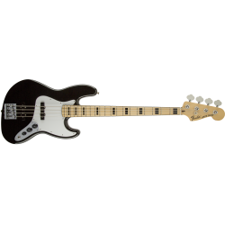 Fender Geddy Lee Jazz Bass®, Maple Fingerboard, Black
