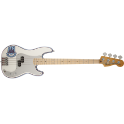Fender Steve Harris Precision Bass®, Maple Fingerboard, Olympic White