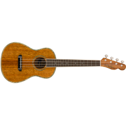 Fender Montecito Tenor Ukulele, Walnut Fingerboard, Natural