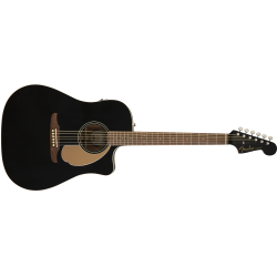 Fender Redondo Player, Walnut Fingerboard, Jetty Black