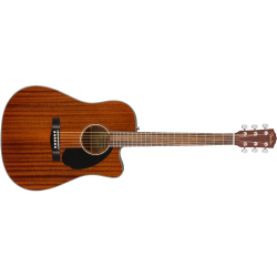 Fender CD-60SCE Dreadnought, Walnut Fingerboard, All-Mahogany