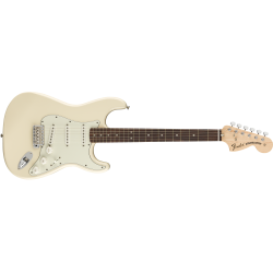 Fender Albert Hammond Jr. Signature Stratocaster®, Rosewood Fingerboard, Olympic White