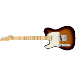 Fender Player Telecaster® Left-Handed, Maple Fingerboard, 3-Color Sunburst
