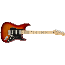 Fender Player Stratocaster® Plus Top, Maple Fingerboard, Aged Cherry Burst