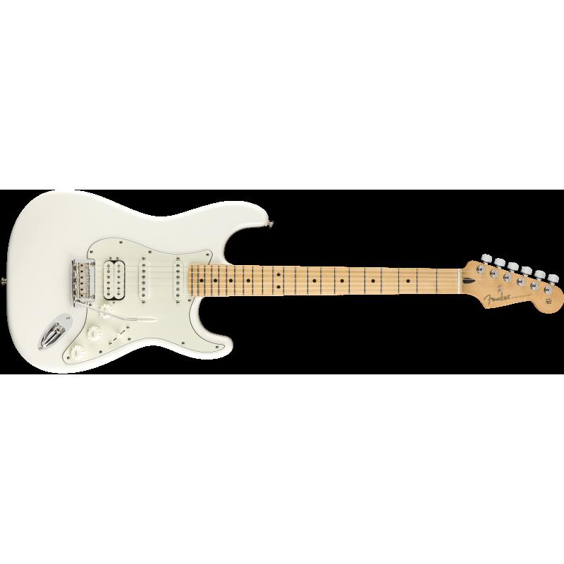 Fender Player Stratocaster® HSS, Maple Fingerboard, Polar White