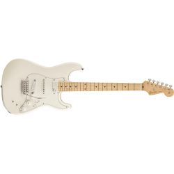Fender EOB Stratocaster®, Maple Fingerboard, Olympic White