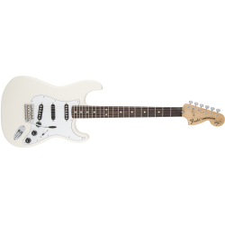 Fender Ritchie Blackmore Stratocaster®, Scalloped Rosewood Fingerboard, Olympic White