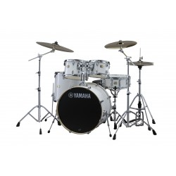 "Yamaha Stage Custom Birch Kit 22"" White + Herrajes HW780"