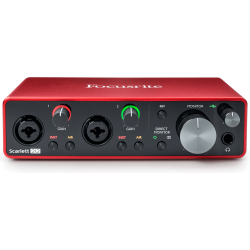 Focusrite Scarlett 2i2 3nd Gen