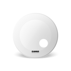 Evans 22 EQ3 Coated White BD22RGCW