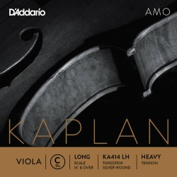 DADDARIO KA414 LH KAPLAN AMO DO LONG SCALE HEAVY TENSION CUERDA SUELTA