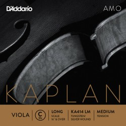 DADDARIO KA414 LM KAPLAN AMO DO LONG SCALE MEDIUM TENSION CUERDA