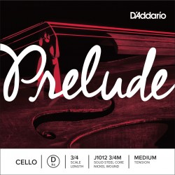 DADDARIO J1012 PRELUDE - RE CUERDA SUELTA CELLO D 3/4