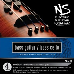 DADDARIO NS170 ELECTRIC BASS CELLO JUEGO